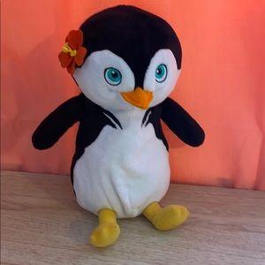 """Surf's Up Lani 11"""" Penguin Plush"""